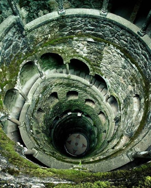 An Amazing Well In Portugal