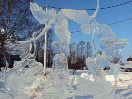 A Collection Of Amazing Ice Sculptures