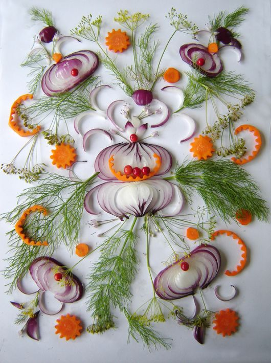 Amazing Artwork Made From Onions
