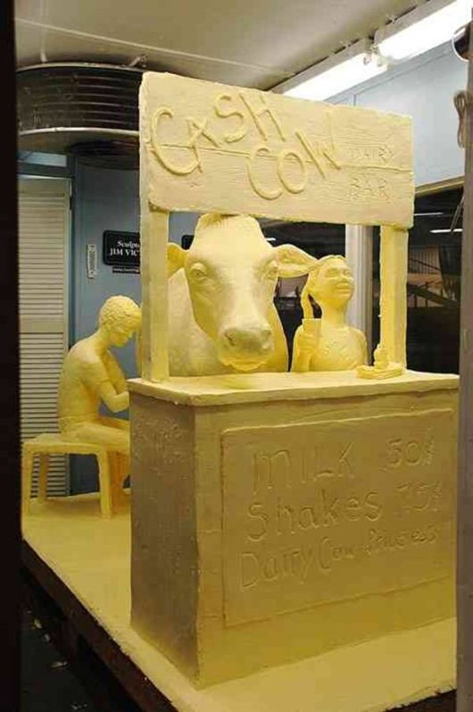 Incredibly Creative Butter Sculptures