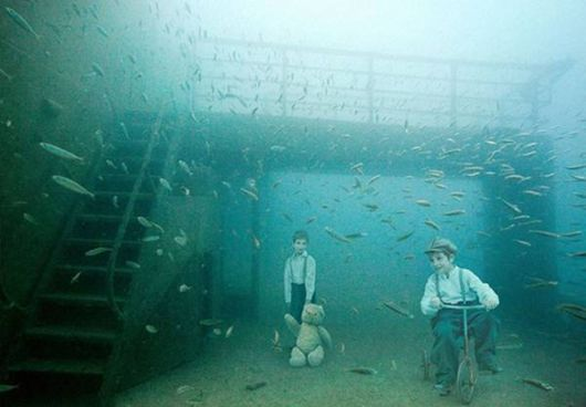 The Human Life Under Waterc