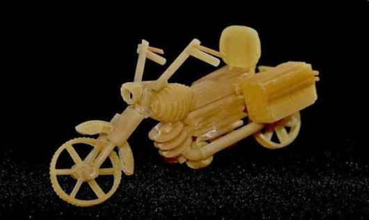 Amazing Sculptures Made From Pasta