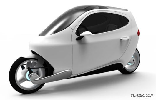 Gyroscopically Electric Motorcycle