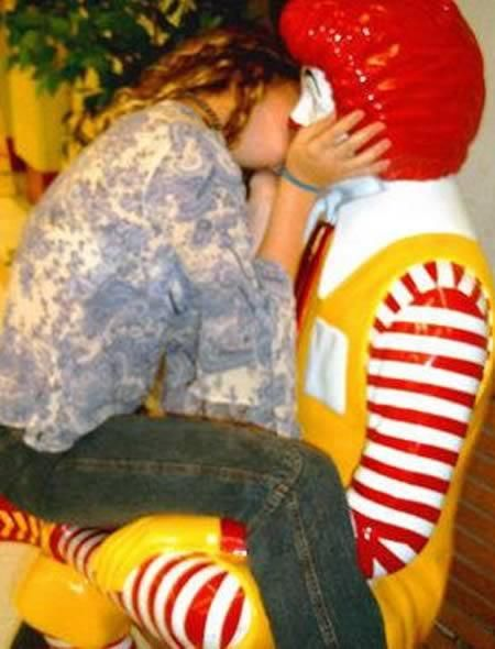 Funniest And Most Inappropriate Ronald McDonald Photos