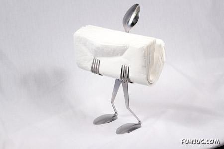 Creative And Unusual Napkin Holders