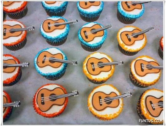 Delicious Cupcakes for Musicians