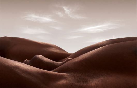 Cool Landscapes Created With The Human Body Funzug Com