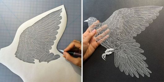 Most Precise Paper Cuttings