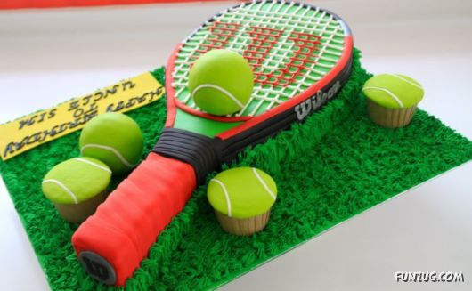The Coolest Sports Themed Cakes