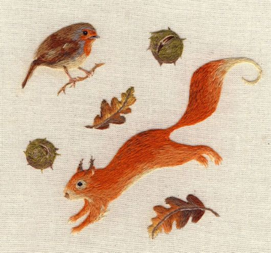 Tiniest Animals Embroidered