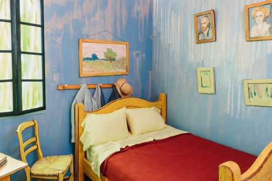 Talented Artists Recreate Van Gogh's Iconic Bedroom And Put It For Rent On Airbnb