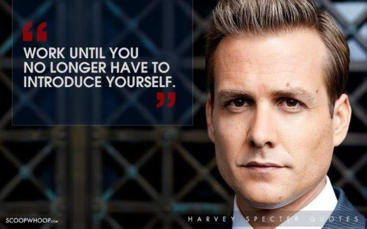The Secret To Success By Harvey Specter