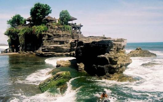 Tanah Lot - The Marvelous Rock Formation