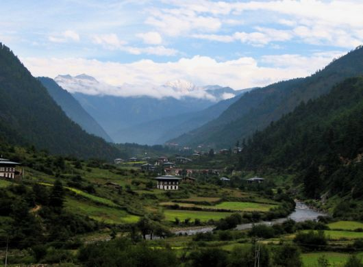 The Beautiful Valley Sceneries