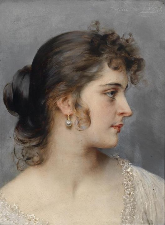Elegant Portraits By Eugene de Blaas