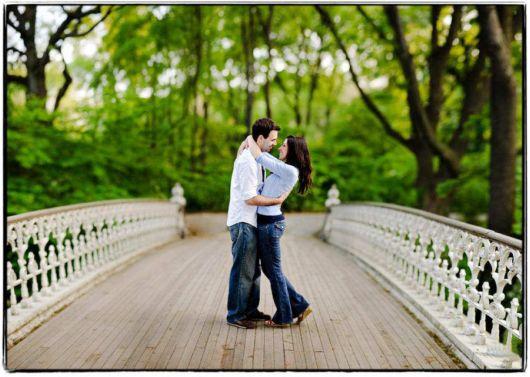 The Romantic Wooden Bridges