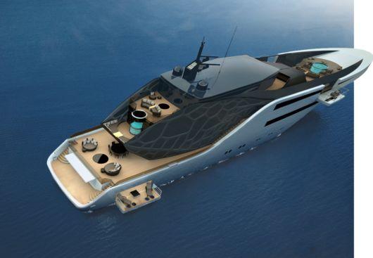 The Amazing Anaconda Yacht Concept