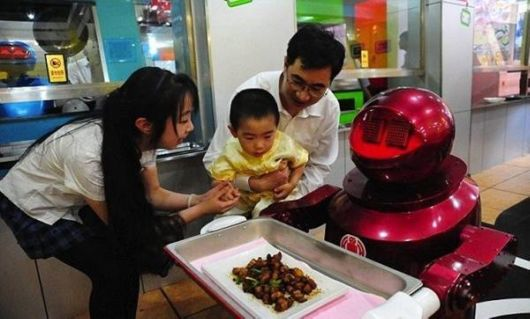 The Robotic Restaurant In China
