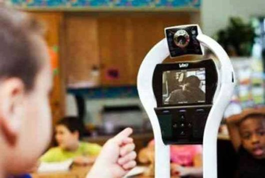 VGo Robot For A 7 Year Old Boy