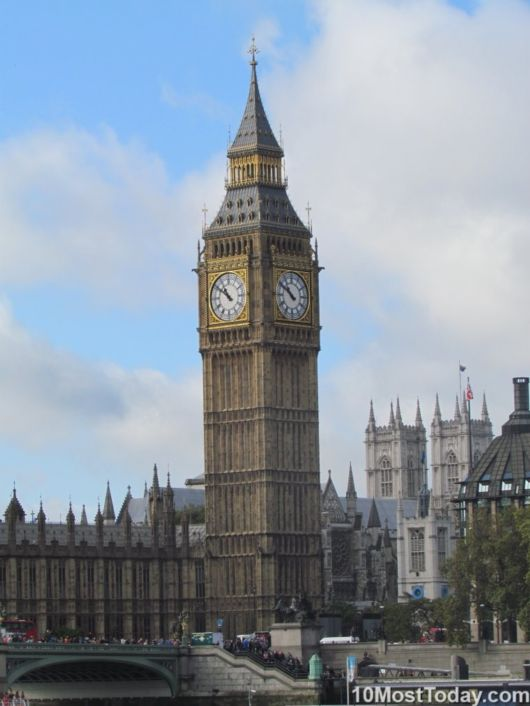 The 10 Most Famous Clock Towers In The World