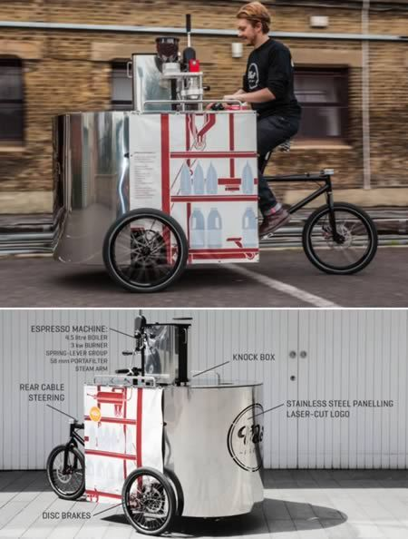 Coolest Businesses On A Bike