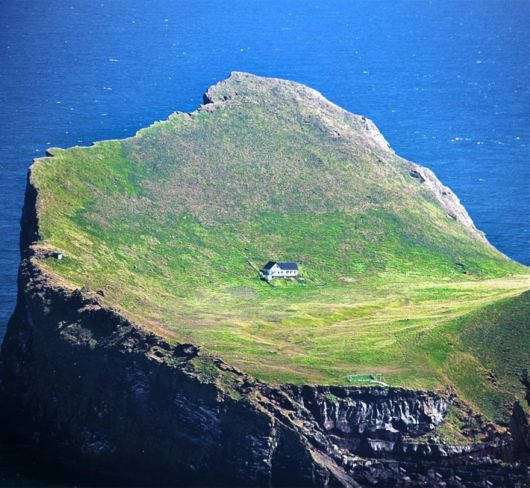 The Lone House On An Island