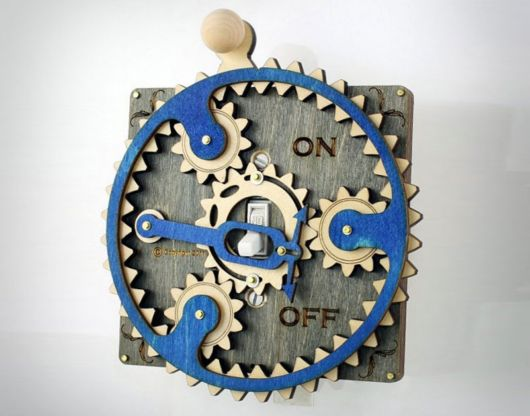 Overly Complicated Light Switch Covers Are Awesome
