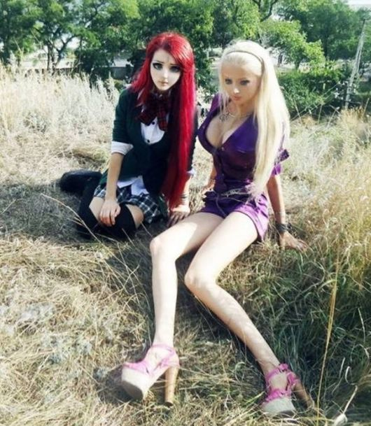 The Real Life Barbie Dolls
