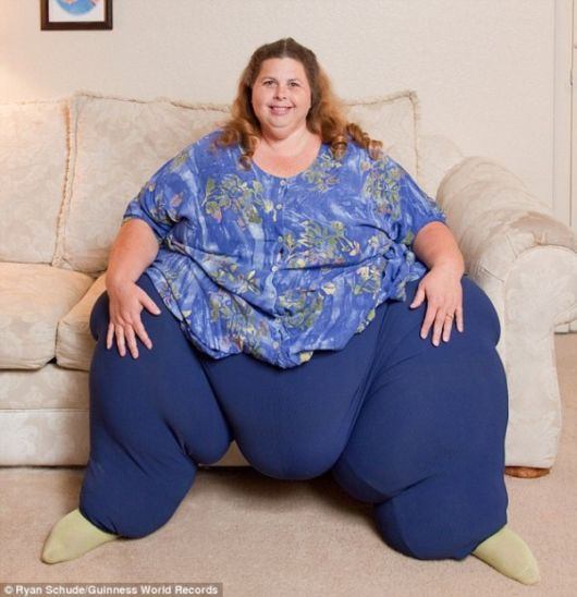 Pauline Potter - Worlds Most Heaviest Woman