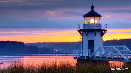 Click to Enlarge - Beautiful Lighthouse Wallpapers