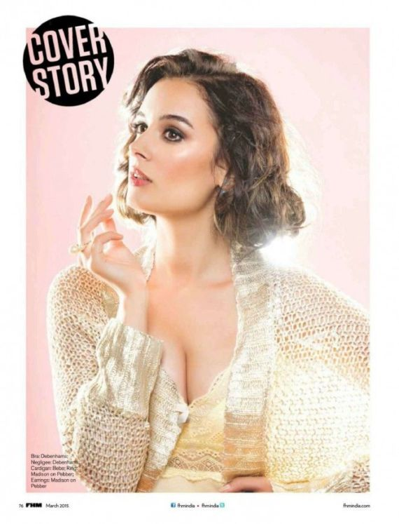 Evelyn Sharma For FHM India