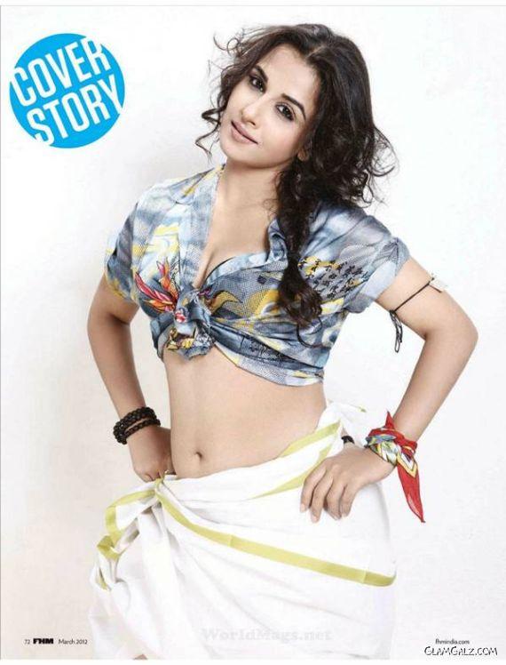 Vidya Balan In FHM India 2012