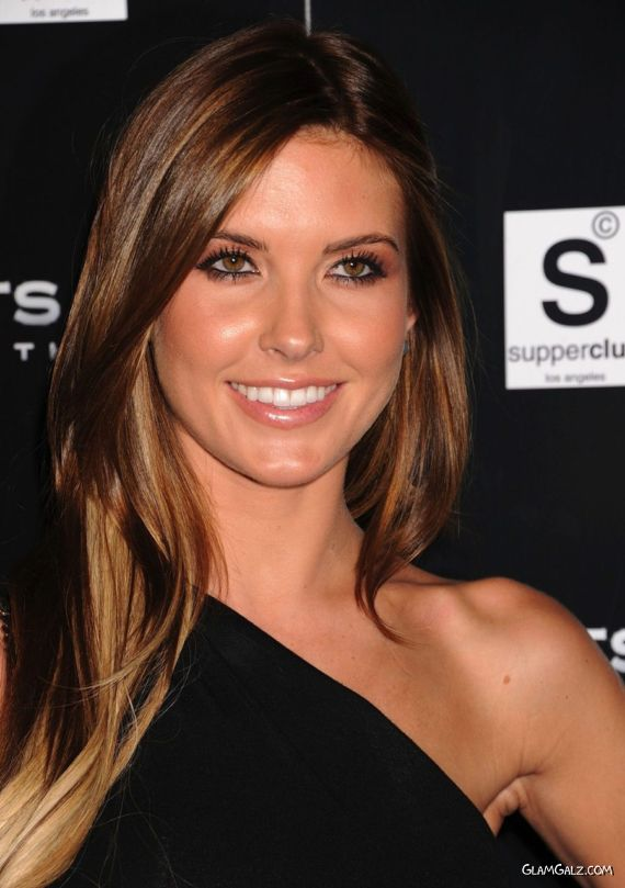 Audrina Patridge At The Saints Row Launch