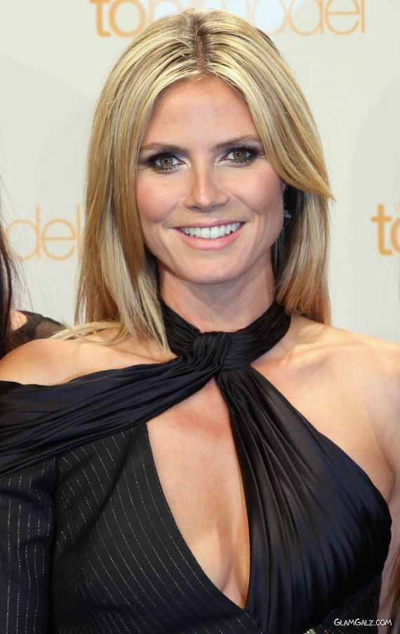 Heidi Klum At Germany's Next Top Model Photocall