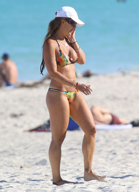 Cristy Rice On A Vacation In Miami