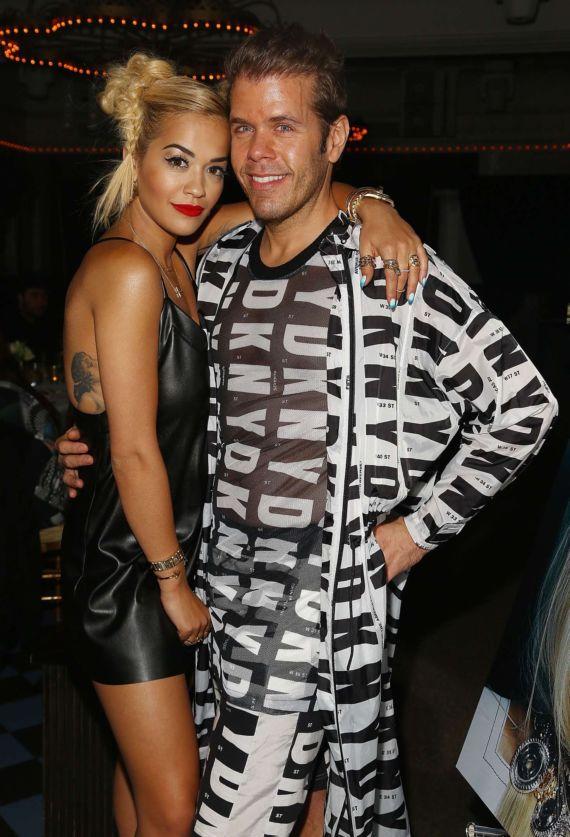 Rita Ora At Paper Magazine's Beautiful People Party