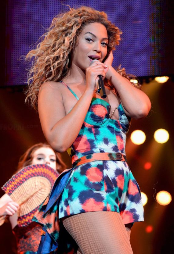Beyonce Performs Live at Barclays Center In New York
