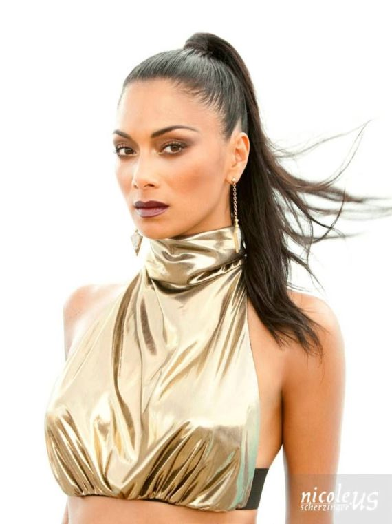 Nicole Scherzinger For Bandages Photoshoot