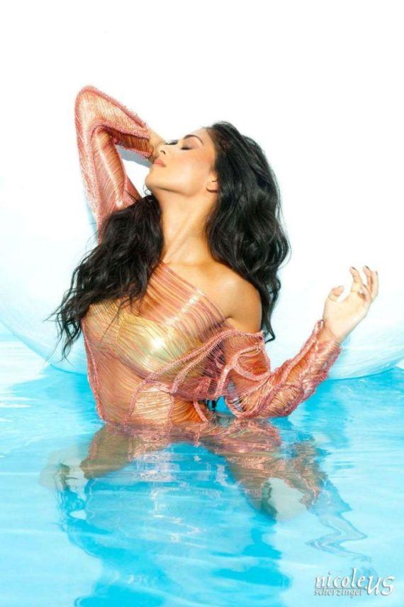 Nicole Scherzinger For Bandages Photoshoot