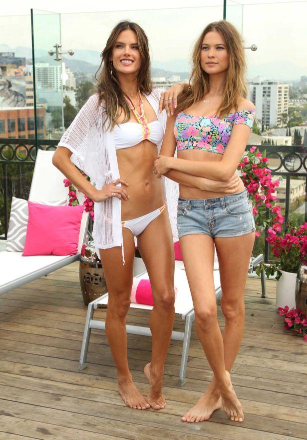 Alessandra Ambrosio And Behati Prinsloo Finally Together
