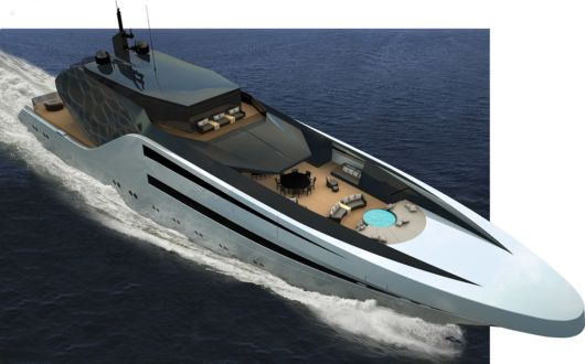 The Amazing Anaconda Yacht Concept